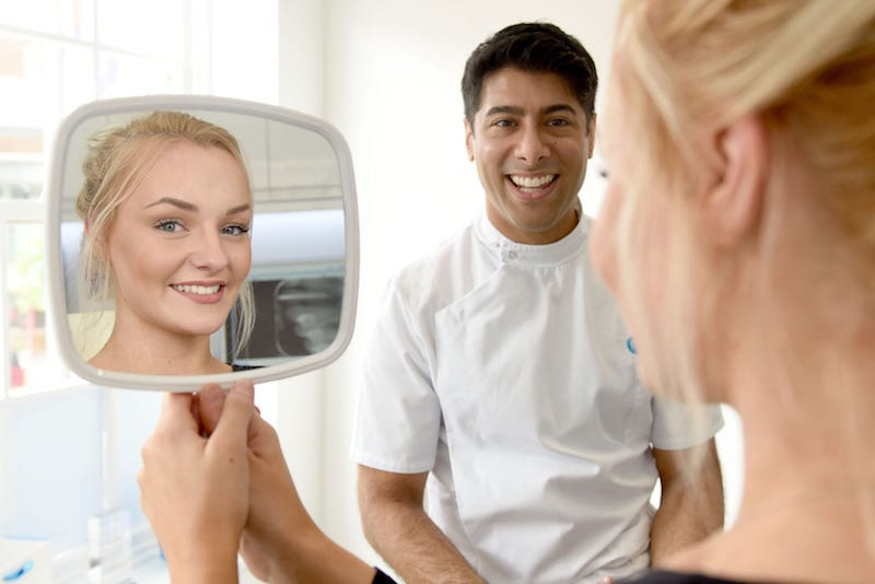 improvements in your smile with Invisalign